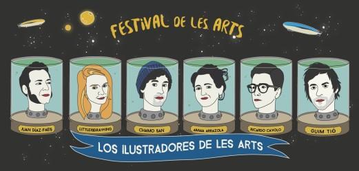 Ilustradores_Les Arts