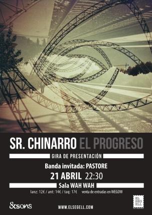 Cartel Chinarro Pastore